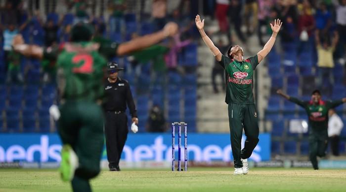 Bangladesh beat Afghanistan in last ball finish