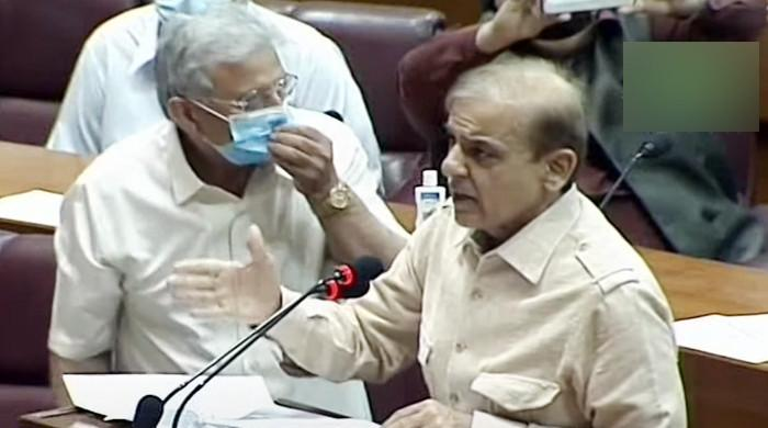 Shahbaz Sharif accuses govt of releasing 'fake' budget numbers