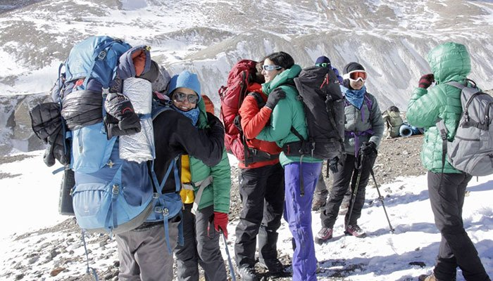 Pakistan women expedition team to climb 7478-metre Passu Peak