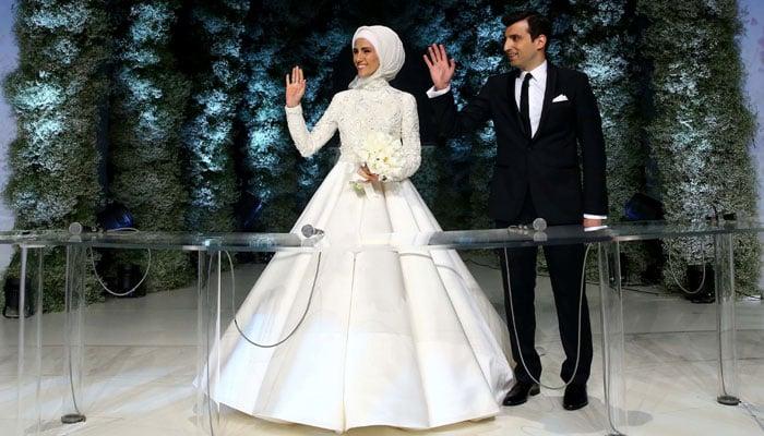 Turkish Wedding Dress 78 Perfect Sumeyye Erdogan and her