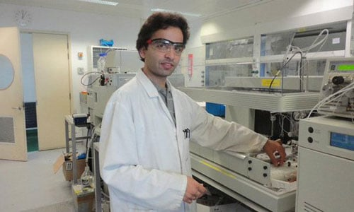 Syed Hamid Hussain was a professor of Chemistry at the university