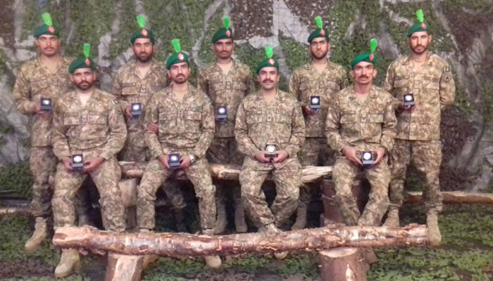 Pakistan team wins gold at Exercise Cambrian Patrol