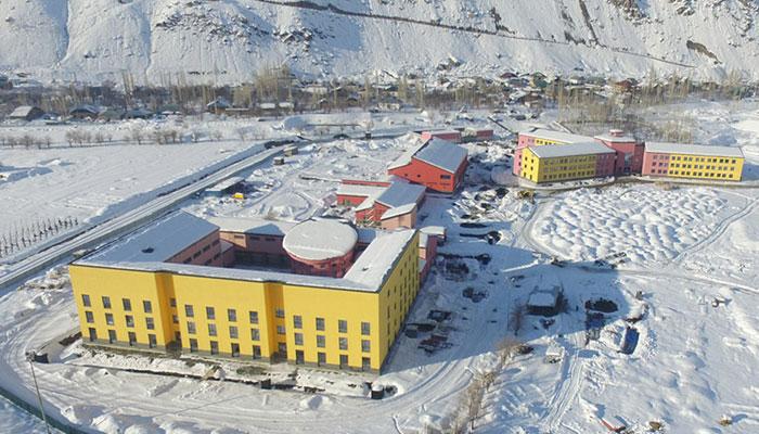 UCA campus in Khorog, Tajikistan.