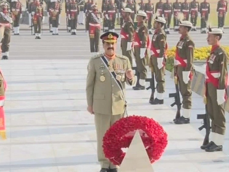 Image result for change of command ceremony bajwa