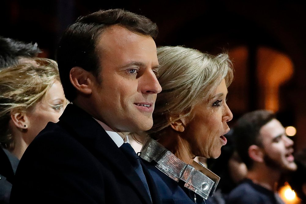 Their story isn't quite traditional but it's. IN PICTURES: Wife, supporters rejoice at Macron becoming ...