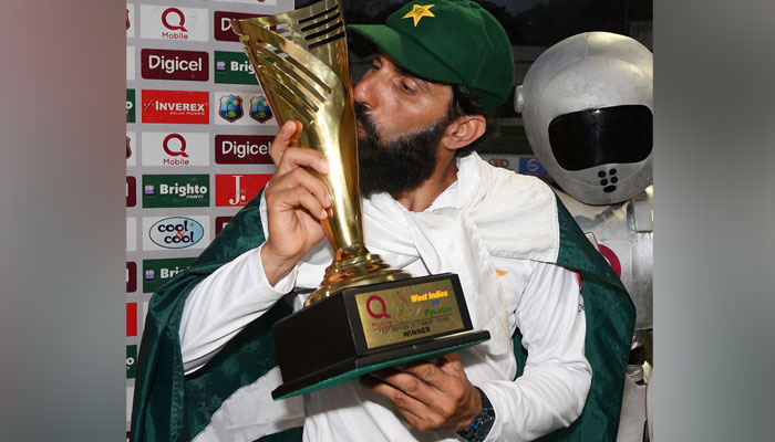 The trophy that eluded all other Pakistan captains/AFP