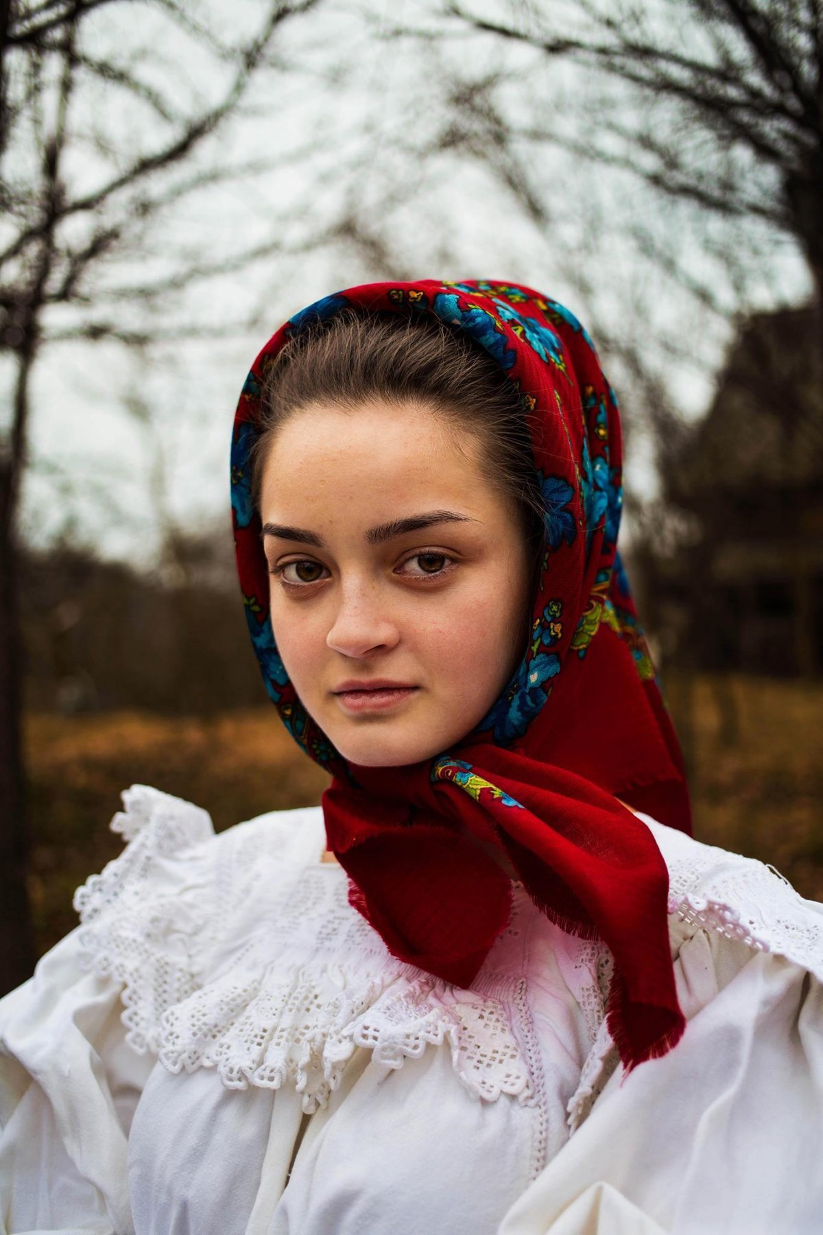 A woman photographed in Romania photographed by Mihaela Noroc