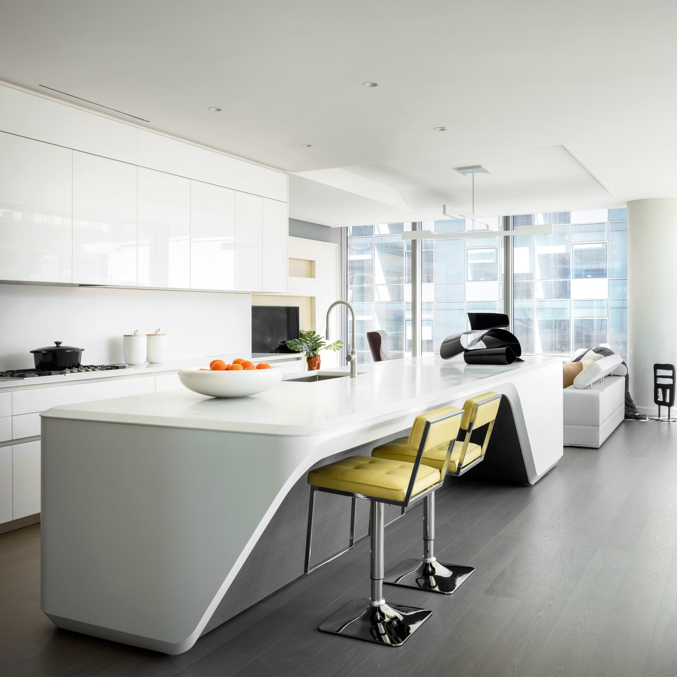 Luxury Apartment: In Pictures: Designers Equip Zaha Hadid's First New York