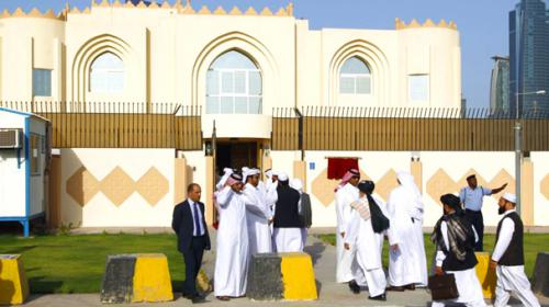 Afghan Taliban deny peace talks with US in Qatar