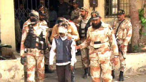 27 MQM workers arrested in Nine Zero raid presented in ATC