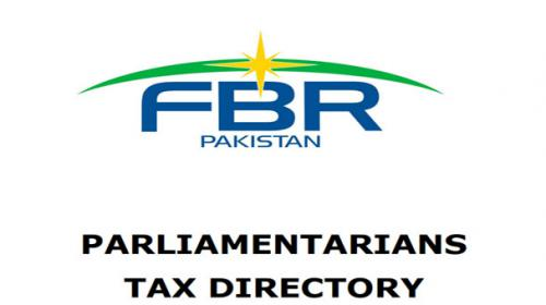 FBR launches Tax Directory of Parliamentarians, general tax payers