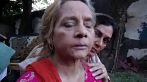 Veteran actress roohi bano attacked in lahore pakistan for Roohi bano latest pics