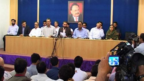 MQM concerned over RAW's conspiracy to destabilise Pakistan