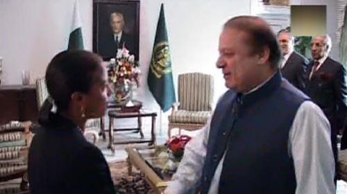 US National Security Adviser Susan Rice calls on PM Nawaz Sharif
