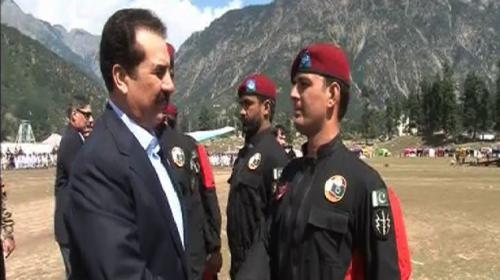 COAS visits Kalam Festival in Swat
