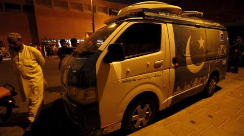 Geo News DSNG attack: Same weapon used in target-killing of cops
