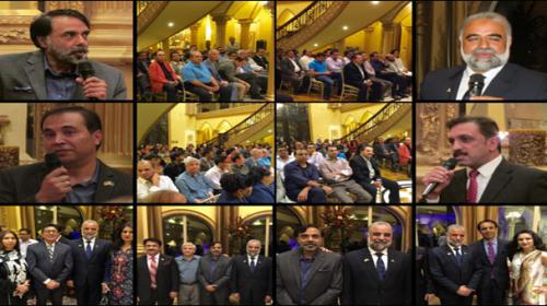 Javed Murtaza Abbasi addresses Pakistani community in Dallas