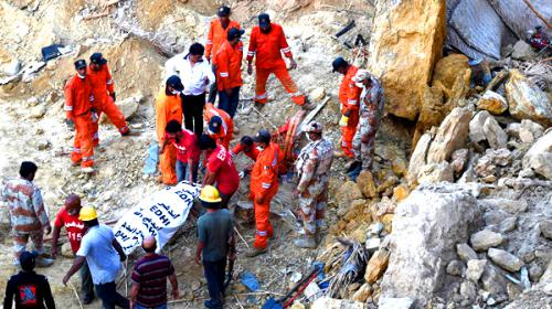 'China-cutting' blamed for landslide tragedy in Karachi