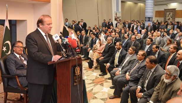 pm nawaz links better pak india ties with resolution of