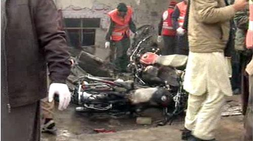 Eight killed, several injured in blast near Peshawar checkpost