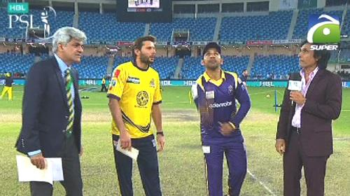 Quetta Gladiators win toss, elect to field against Peshawar Zalmi