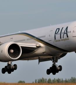 PIA resumes partial flight operations