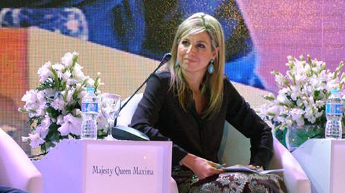 PM Nawaz meets Queen Maxima of Netherlands