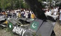 Army aviation's training jet crashes in Gujranwala; two pilots martyred