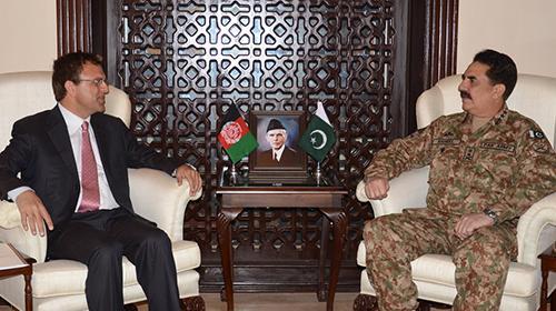 Incoming Afghan Ambassador calls on COAS
