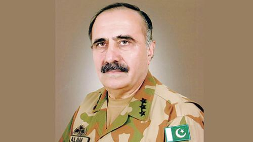 Lt Gen Alam Khattak appointed new KP governor