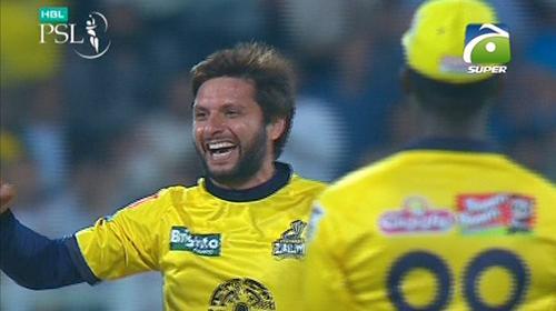 Afridi returns career best figures as Zalmi beat Gladiators by 8 wickets