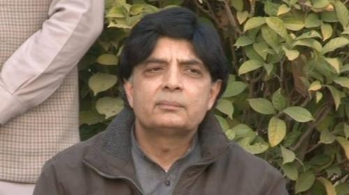 Never said there is no presence of Daesh in Pakistan: Nisar