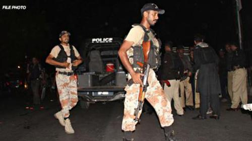 Rangers kill three suspected terrorists in Karachi