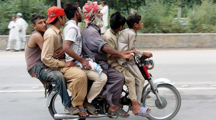 Sindh govt imposes 4-day pillion-riding ban in Karachi
