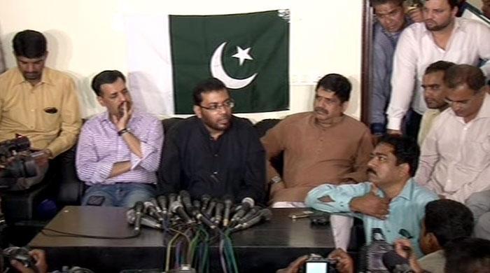 Former provincial minister Dr Saghir quits MQM, joins Mustafa Kamal