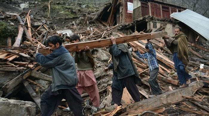 Two children killed, nine missing after Chitral landslide