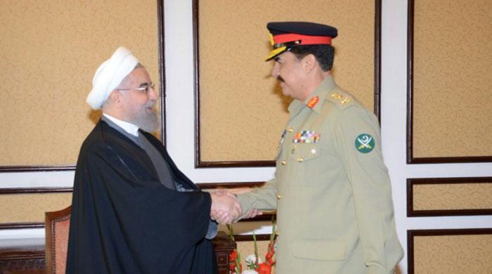 Army chief, Iran President discuss regional security ...