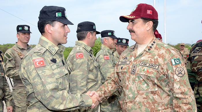 Army Chief witnesses Pak-Turkey joint exercise 'ATATURK-IX'