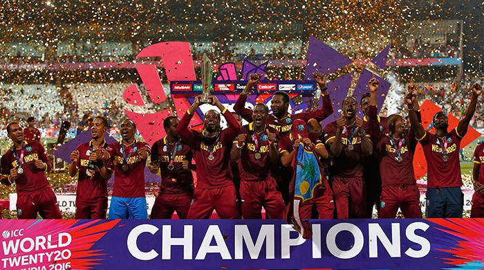 West Indies beat England by 4 wickets to lift 2nd WT20 title