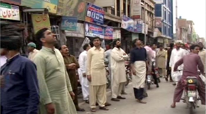 Strong earthquake jolts different parts of Pakistan