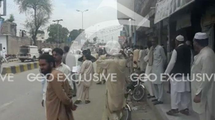 One killed, 17 injurred in suicide blast at Mardan excise office