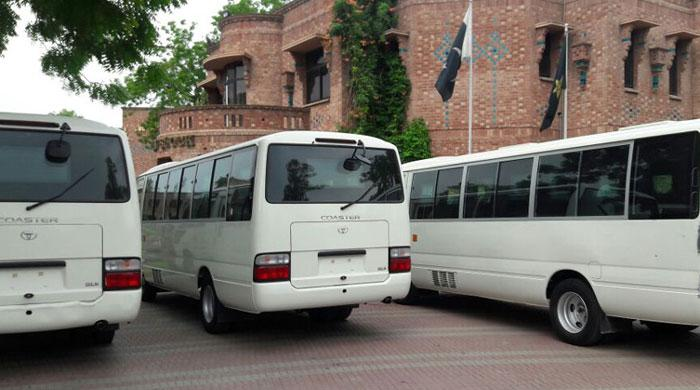 PCB buys four bulletproof buses in the hope to woo international cricket