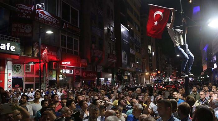 Coup attempt in Turkey crushed by people power