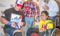 Make-a-Wish helps ailing boy meet John Cena