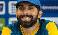 Misbah says 'no disrespect' in press-up routine
