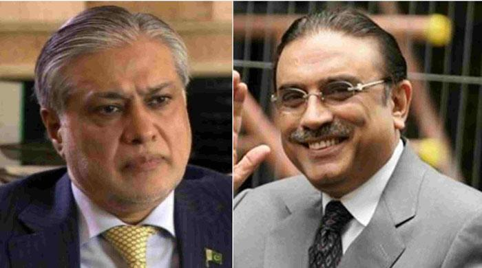 Ishaq Dar expected to hold meeting with Zardari in Dubai: sources