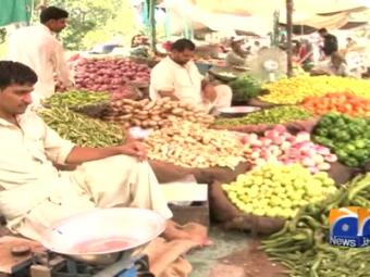 Vegetables prices spike in Lahore