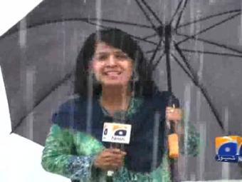 Weather turns pleasant after rain in Islamabad
