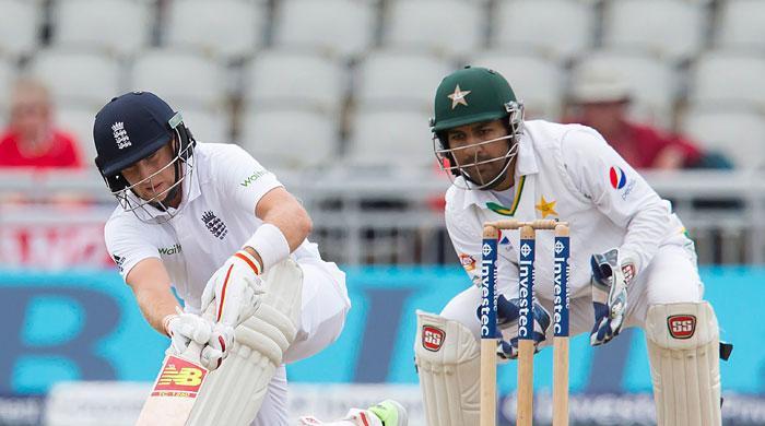 Pakistan three wickets down at Old Trafford