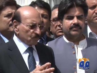 Qaim Ali Shah to hand in resignation today.